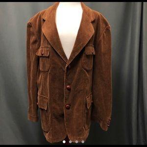 VintageXL Polo Ralph Lauren corduroy blazer jacket